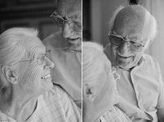 Замечательная фотосессия пожилой пары