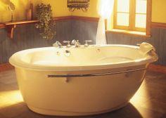 "View the Maax 100659-094 Souvenir Whirlpool Bath Tub 72""L x 42""W x 25""H with Aerofeel Airpool System less Apron at Build.com."