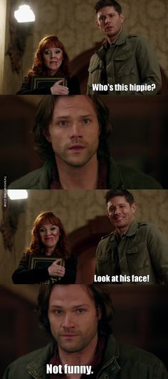 This scene Poor Sammy was so relieved