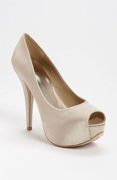 Ok- I want colorful shoes, but could reconsider with these...! Stuart Weitzman 'Gloso' Pump available at Nordstrom