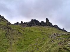 On the way to The Storr.