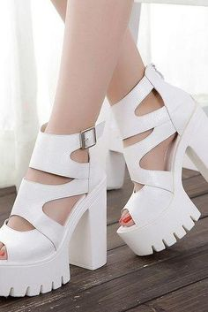 Strappy White Fashion Sandals White Sandals 48a20a2df664
