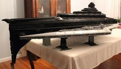 Super Star Destroyer Eclipse in Lego