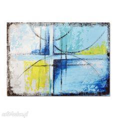 Abstrakcja BY, nowoczesny obraz do salonu. $73