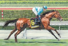 Lady Eli horse race racing fine art print 2017Eclipse Award Female Turf | eBay