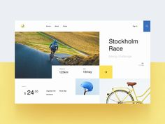 Biking Event Website