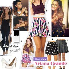 Ariana Grande Style FOLLOW ME ON TWITTER https://twitter.com/ReynaAsencio