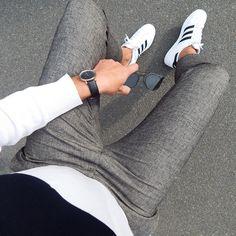 """ǷɦíƖípp on Instagram: """"Another Beauty from @kaptenandson ⚫️⚪️ have a lovely evening , habt nen tollen Abend - genießt ihn 🙏🏻 #asos #adidassuperstar #kaptenandson #dior"""" Hipster Outfits, Hipster Fashion, Boy Fashion, Mens Fashion, Fashion Outfits, Basic Outfits, Cool Outfits, Casual Outfits, Men Casual"""