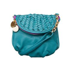 Deux Lux Portofino Mini Messenger Teal up to 70% off | Handbags | Little Black Bag