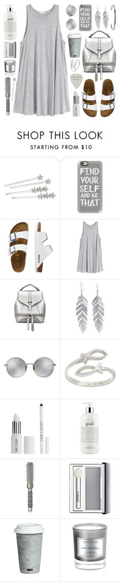 """""""Find Yourself and Be That"""" by lgb321 ❤ liked on Polyvore featuring Lauren Ralph Lauren, Casetify, TravelSmith, H&M, Belk Silverworks, Linda Farrow, Lord & Berry, philosophy, T3 and Clinique"""