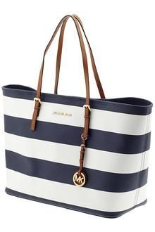 Michael Kors bag* sparkles and Tory Burch wedges
