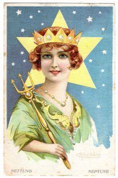 Image result for planets vintage illustration