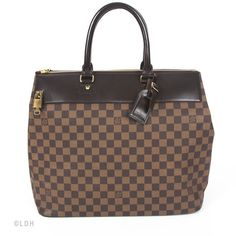 Travel the World with the Louis Vuitton Damier Canvas Greenwich at your Side