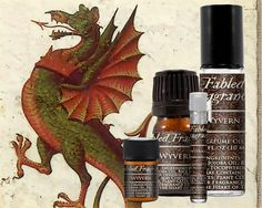 WYVERN Perfume: Earthy Floral Scent, Artisan Fragrance, Dragons Blood, Freesia Flower, Vegan Solid Perfume, Ships Out in 6-9 Days