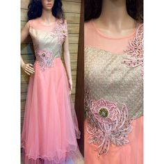 Designer Embroidery Work With Sequence Work And Stylist Neckline Chest : Max Up…