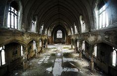 Spookachtig mooie beelden van desolate gebouwen - KnackWeekend.be