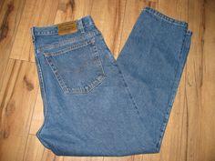 Levis 540 Mens Levi Blue Jeans 38X31 Relaxed Fit Orange Tab  #Levis #RelaxedFitStraightLeg