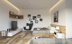Diseño de Interiores Llenos de Textura y Obras de Arte de Buen Gusto