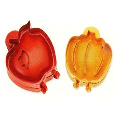 $12.95 POCKET PIE MOLDS - SET OF 2 (1-PUMPKIN AND 1-APPLE)