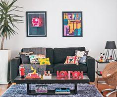 Street. Também chamado de London Style, esse jeito de decorar invade as casas de gente criativa.