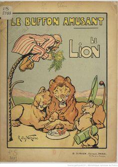 Le Buffon amusant, le Lion, 1919