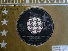 THE VELVELETTES -These Things Will Keep Me Loving - TAMLA  7  Northern Soul,R&B