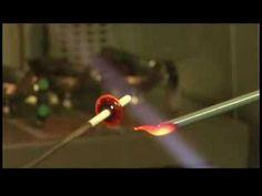 Glass Bead Making: Flamework for Beginners : Glass Bead-Making: Creating a Flamework Bead - YouTube