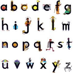 Letterland alphabet: My boy learns these at school. Teaching Kids, Kids Learning, Teaching Resources, Back To School Worksheets, Abc Activities, Activity Games, Fun Games, Party Games, Teachers Corner