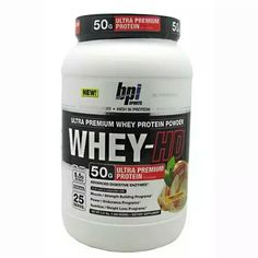 O Whey-HD da BPI Sports é um suplemento alimentar ultra-premium desenvolvido com uma fórmula exclusiva de várias proteínas do soro do leite de qualidade.   Com 50g de proteínas ultra-premium a cada 2 scoops e baixa taxa de carboidratos e gorduras, o Whey-HD torna-se um suplemento nutritivo e multi-funcional que garante uma fonte de proteína superior para os músculos.   #UVSFIT #whey #fitness #fikagrande   http://www.uvsfit.com.br/whey-hd-bpi-sports.html