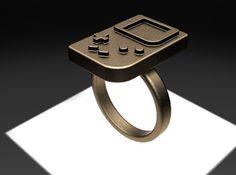 Size 6 Retro Ring by JPRetro'