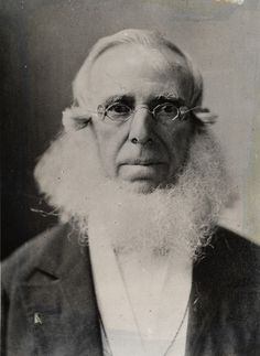 Peter Cooper (1791 – 1883), the inventor of the first steam locomotive, the Tom Thumb – and reportedly also inventor of the first gelatin dessert better known now as JELL-O. –