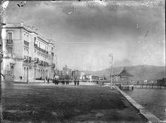 Hotel Aktaion - New Phalliron coast Old Photos, Greece, Nostalgia, The Past, Coast, Louvre, Street View, Black And White, History