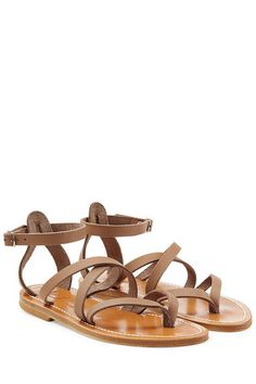 Epicure Leather Sandals | K.Jacques