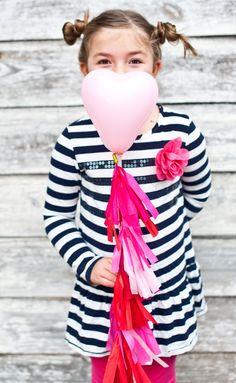 Valentine Mini Balloon Lollies | The Sweet Lulu Blog