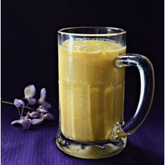 Fresh mango, milk, yogurt and cardamom are main ingredients of this Indian drink which is quickly gaining popularity worldwide. Enjoy chilled in summer days.