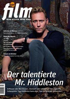 thomas hiddleston magazine covers | Tom Hiddleston On Cover Of Film Magazine…
