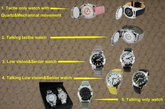 You will find different watch models from our product portfolio