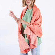scarf woman no22 coral | babaà