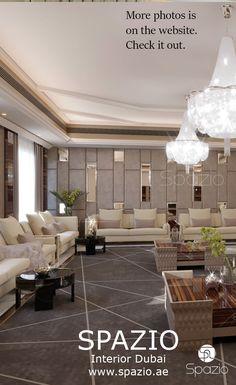 Living room in modern luxury style