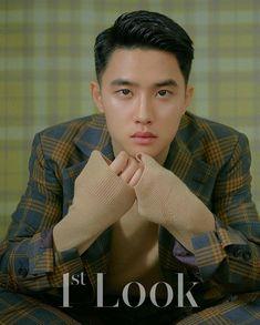 Do Kyungsoo & Park So Dam for Look Magazine Korea, Vol. Kpop Exo, Kyungsoo, Do Kyung Soo, Wattpad, New Animation Movies, Park So Dam, Look Magazine, Chansoo, Exo Do