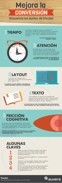 Optimiza tu web para vender más #infografia #infographic #marketing