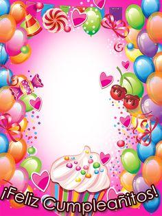 Happy Birthday Wishes Photos, Happy Birthday Wishes Cake, Cute Happy Birthday, Birthday Quotes For Best Friend, Cat Birthday, Birthday Greetings, Birthday Cards, Birthday Photo Frame, Birthday Frames