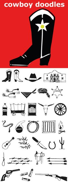 A childhood of Westerns, a cap gun, chaps, spurs, cowboy hat and boots plus a trip to Texas was the inspiration for Cowboy Doodles. If you need a doodle font for your next roundup, rodeo or cattle drive themed invitation we have you covered.