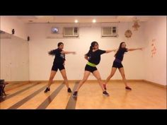 Watch out for this l ZUMBA Choreography l Soul to Sole - LOVE most of this routine - not crazy about the arm reaches...