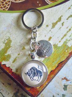 """Herren-Accessoires - Schlüsselanhänger """"Stier"""" - ein Designerstück von Love-design bei DaWanda"""