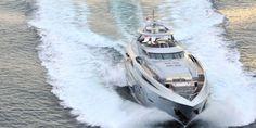 35m MEYA MEYA ends a #yacht #charter 10 July in #Mykonos Sleeps 12 5 cabins, 7 crew