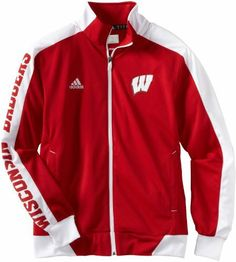 0b1b2d5d0d1 Buy NCAA Wisconsin Badgers Men s Sideline Swagger Warm-Up Jacket (Red