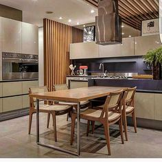 Cozinha linda e super moderna ameiiiiiii. Projeto Patrícia Franco e Cláudia Pimenta
