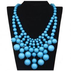 Gorgeous Bubble necklace! So cute and available in 4 colors. Just $12.00!