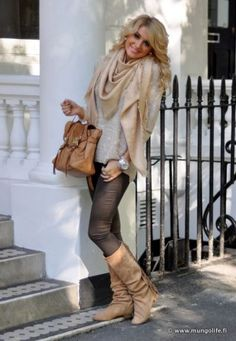 Smile with ZARA - boots, Pull & Bear - bag, Guess - watch | on Fashionfreax you can discover new designers, brands & trends.